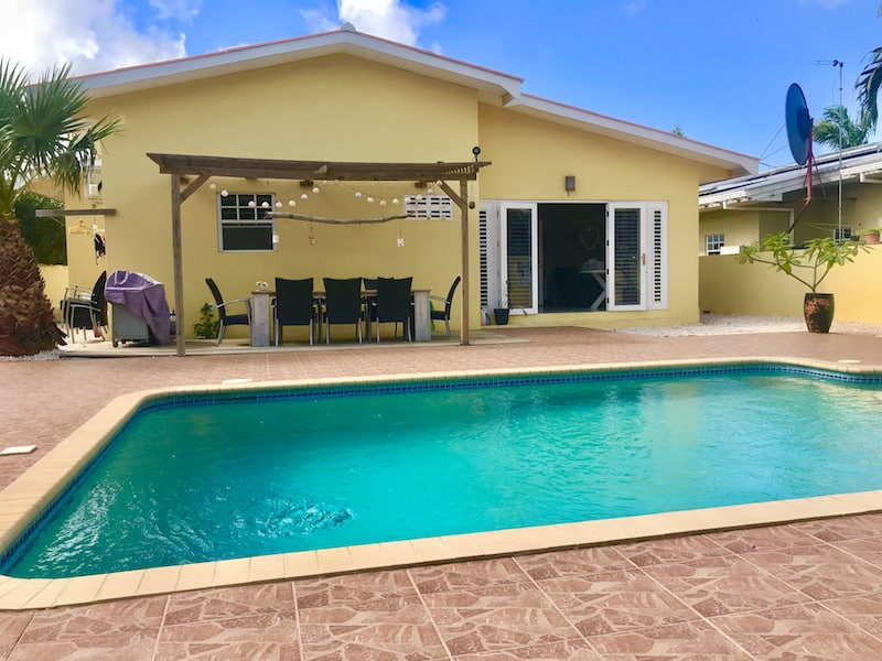 Prachtige woning sunset heights te huur athome curacao for Huurkoop woning
