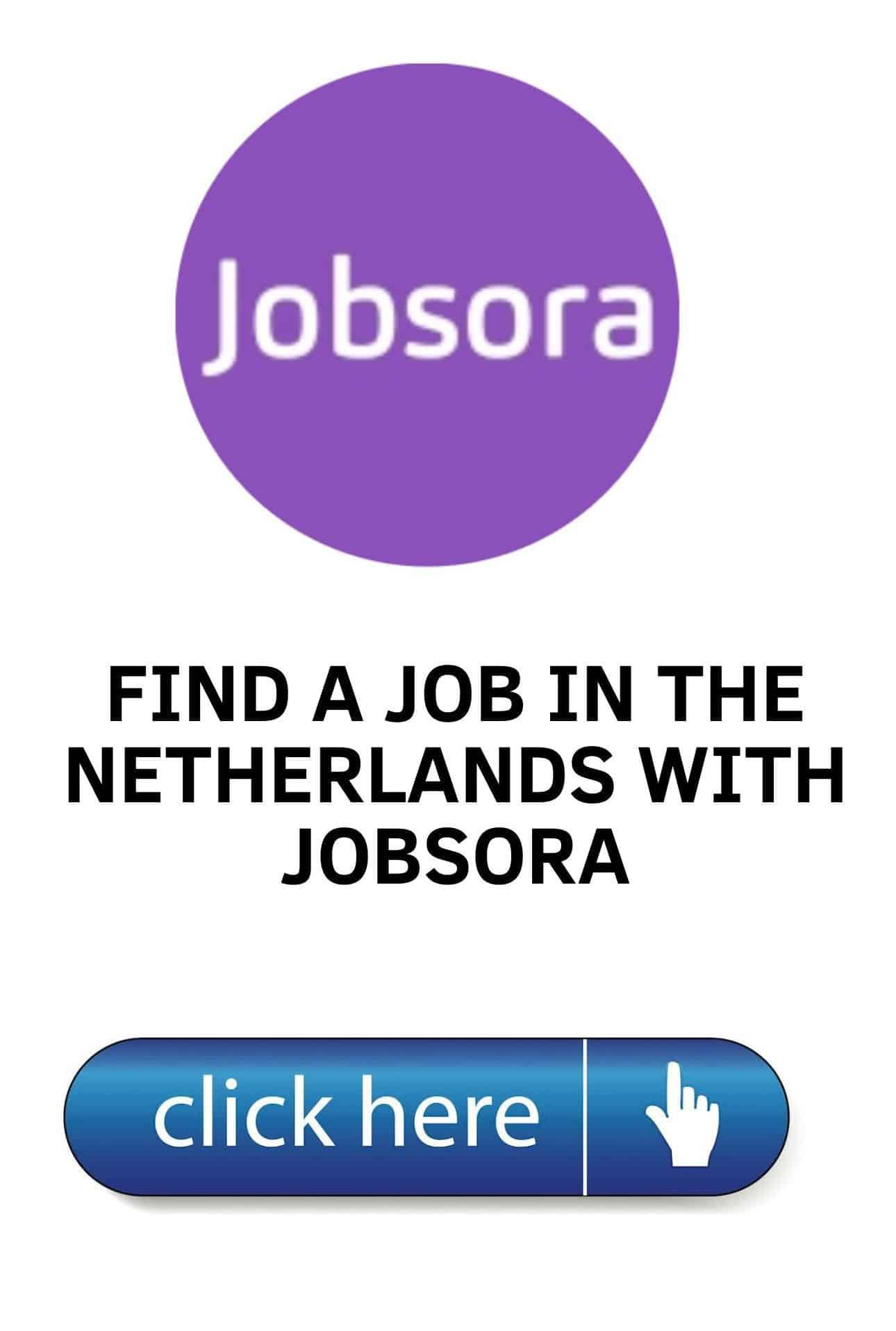 Find a job in the Netherlands with Jobsora